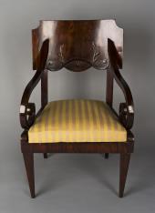 Fotel w stylu biedermeier (typ hamburski)