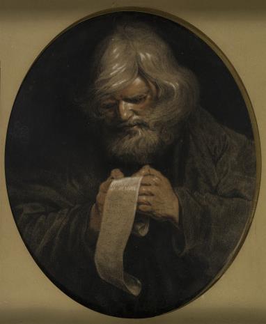 Artur Grottger, Czytający starzec