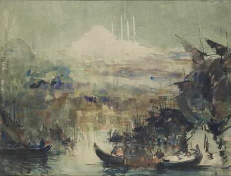 Marian Mokwa, Pejzaż morski
