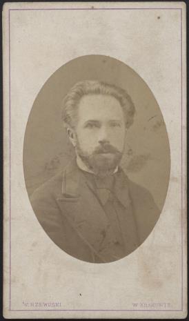 Walery Rzewuski, Portret mężczyzny