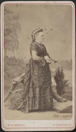 Walery Rzewuski, Portret kobiety