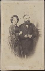 Portret - kobieta i meżczyzna