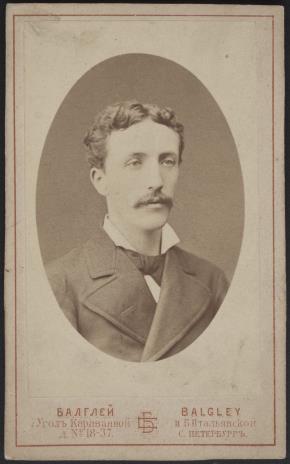 S. Balgley, Portret mężczyzny