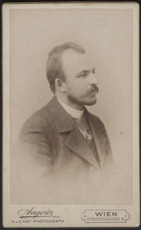 Victor  Angerer, Portret męski