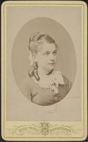 Hugo Thiele, Portret kobiety