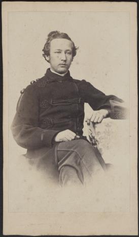 Albert Ballerstaedt, Portret męski Kazimierz Zawadzki