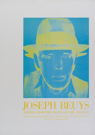 Joseph Beuys, Paski z domu szamana