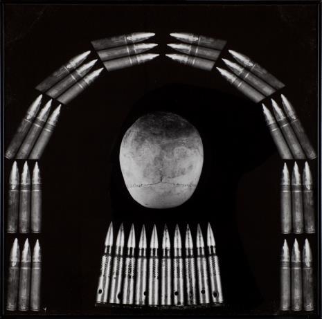 Zofia Kulik, Księżycowa czaszka, z cyklu Kolumny