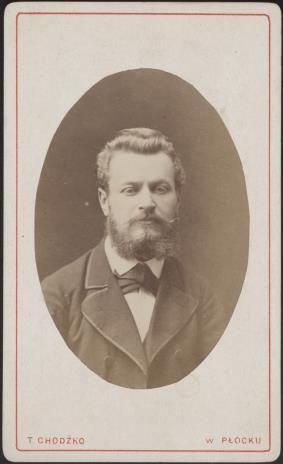 Tyburcy Chodźko, Portret mężczyzny
