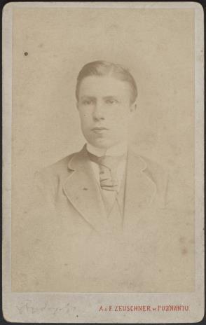 A. i F. Zeuschner, Portret mężczyzny