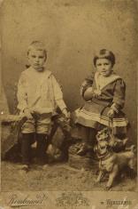 Portret chłopca i dziewczynki