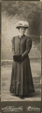 A. Krajewski, Portret kobiety