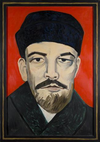 Wojciech Fangor, Lenin