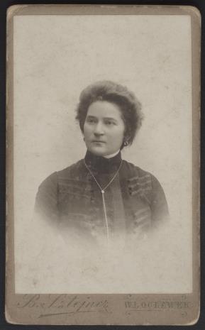 B. Sztejner, Portret kobiety