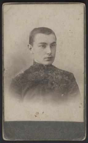 B. Szałwiński, Portret mężczyzny