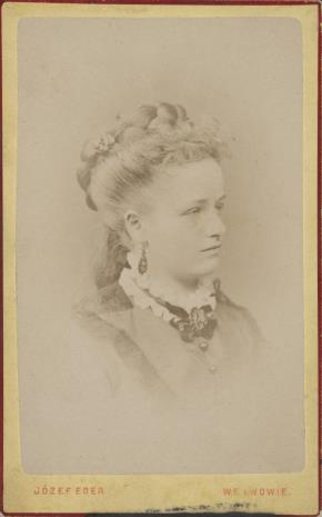 Zakład fotograficzny Eder Józef, Portret kobiety