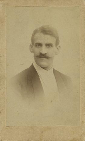 K. Żelechowski, Portret mężczyzny