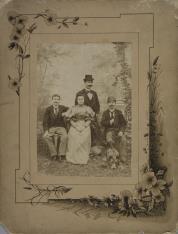 Portret zbiorowy rodziny Neumannów