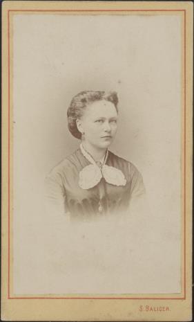 Simon Balicer, Portret kobiety