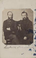 Portret dwóch mężczyzn - Lenartowicz i Komorowski