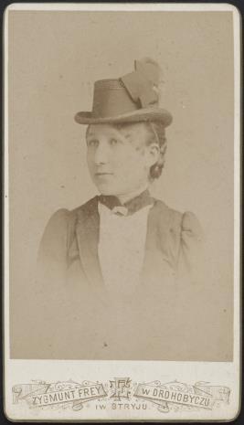 Zakład fotograficzny Frey Zygmunt, Bronisława Pilińska