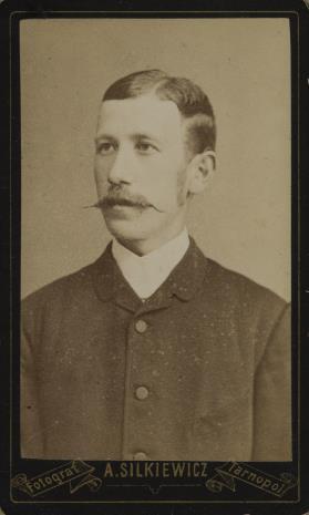Alfred Silkiewicz, Portret mężczyzny