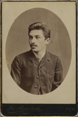 Leo Rosenbach, Portret mężczyzny