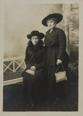 Portret dwóch kobiet