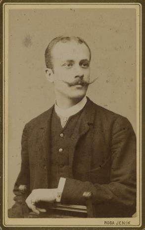 Rosa Jenik, Portret mężczyzny