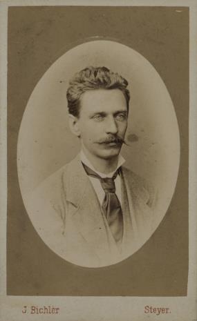 Johann Bichler, Portret mężczyzny