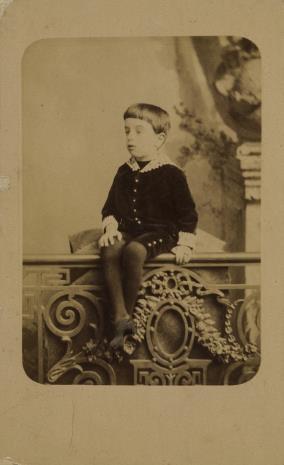 M. Romanowić, Portret chłopca