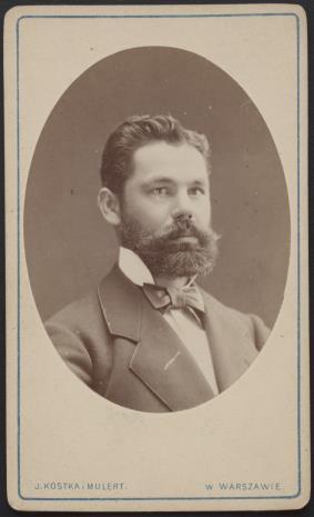 Julian Kostka, Portret mężczyzny