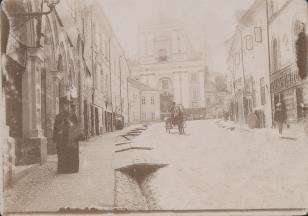 Ryga, widok ulicy