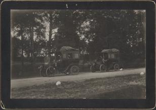Samochody na szosie