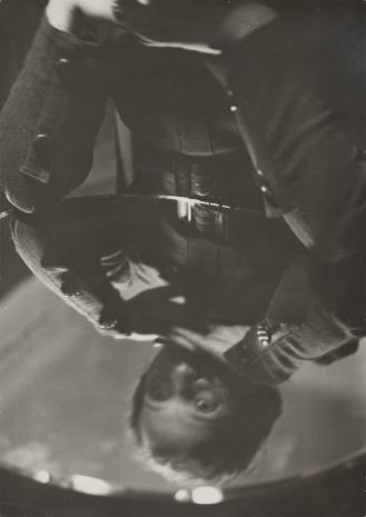 Aleksander Krzywobłocki, Portret Pani Haliny Hornung (odbity w lustrze)