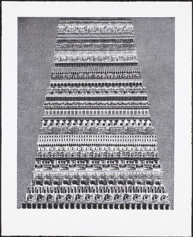 Roman Opałka, Wieża Babel
