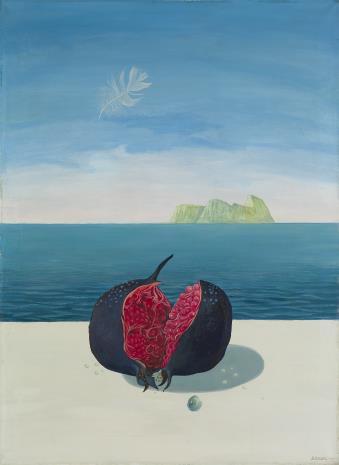 Leszek Rózga, Pejzaż śródziemnomorski z granatem