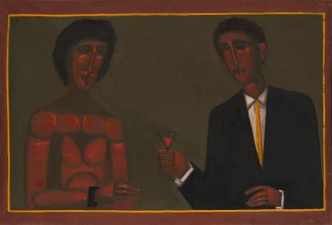 Jerzy Nowosielski, Portret ślubny