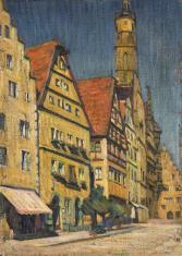 Domy w Rottenburgu