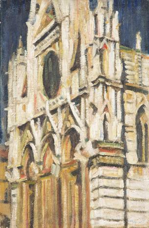 Aleksander Szturman, Katedra w Sienie