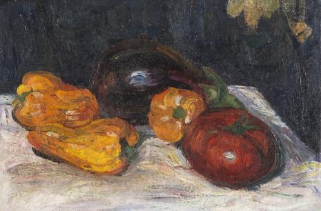 Aleksander Szturman, Martwa natura z pomidorem