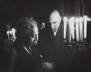Artur Rubinstein i Jarosław Iwaszkiewicz