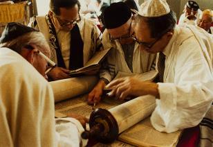 Modlitwa Jom Kippur, Legnica.