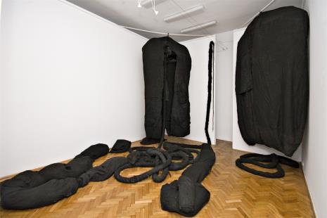 Magdalena Abakanowicz, Zespół Czarnych Form Organicznych