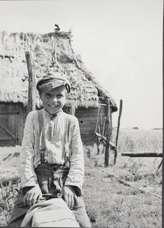 Józef Szymańczyk, Mały Poleszuk siedzący okrakiem na żerdzi