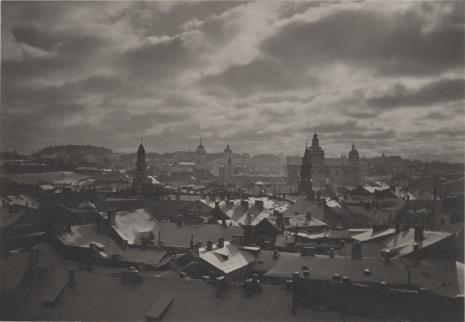 Jan Bułhak, Widok Wilna