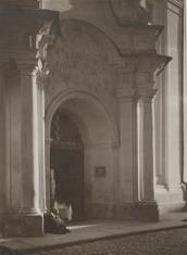 Portal kościoła Dominikanów w Wilnie