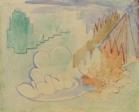 Leon Chwistek, Kompozycja formistyczna z łabędziami