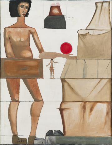 Jerzy Nowosielski, Kobieta i góry