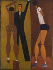 Kompozycja z dwiema kobietami